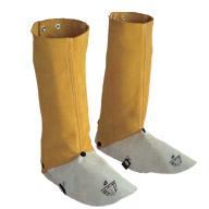 金黄色硬皮长筒脚盖